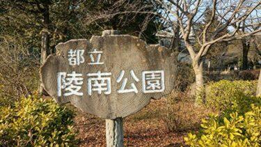 陵南公園は高尾駅から徒歩20分。駐車場も無料の子連れ外遊びに最適!